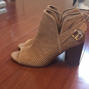 Sam Edelman Easton in Camel Suede Size 6.5
